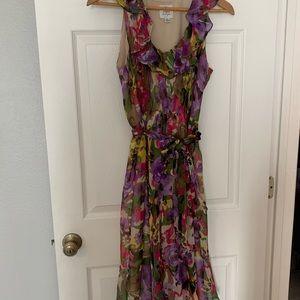 Silk dress. New.
